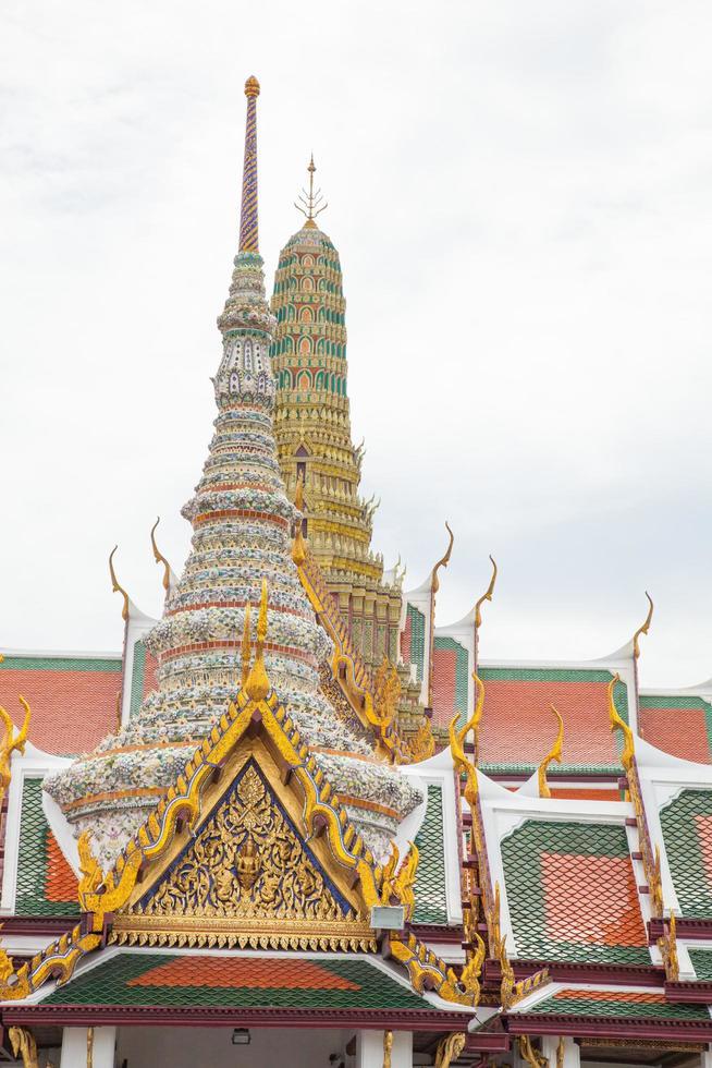Wat Phra Kaew Tempel in Bangkok foto