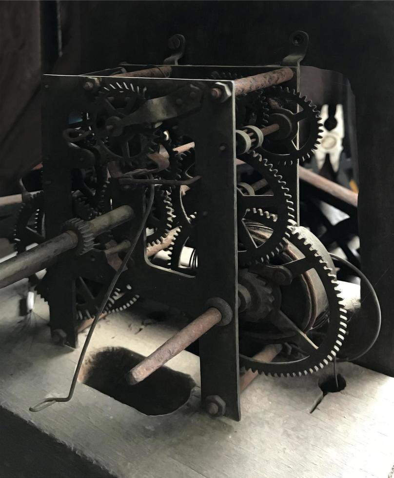antiker Getriebemechanismus foto