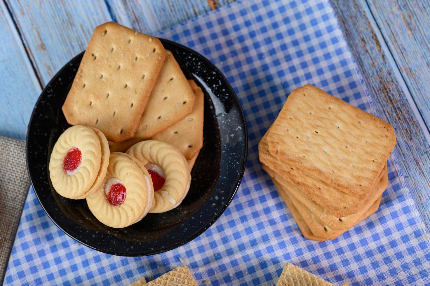 Kekse und Cracker foto