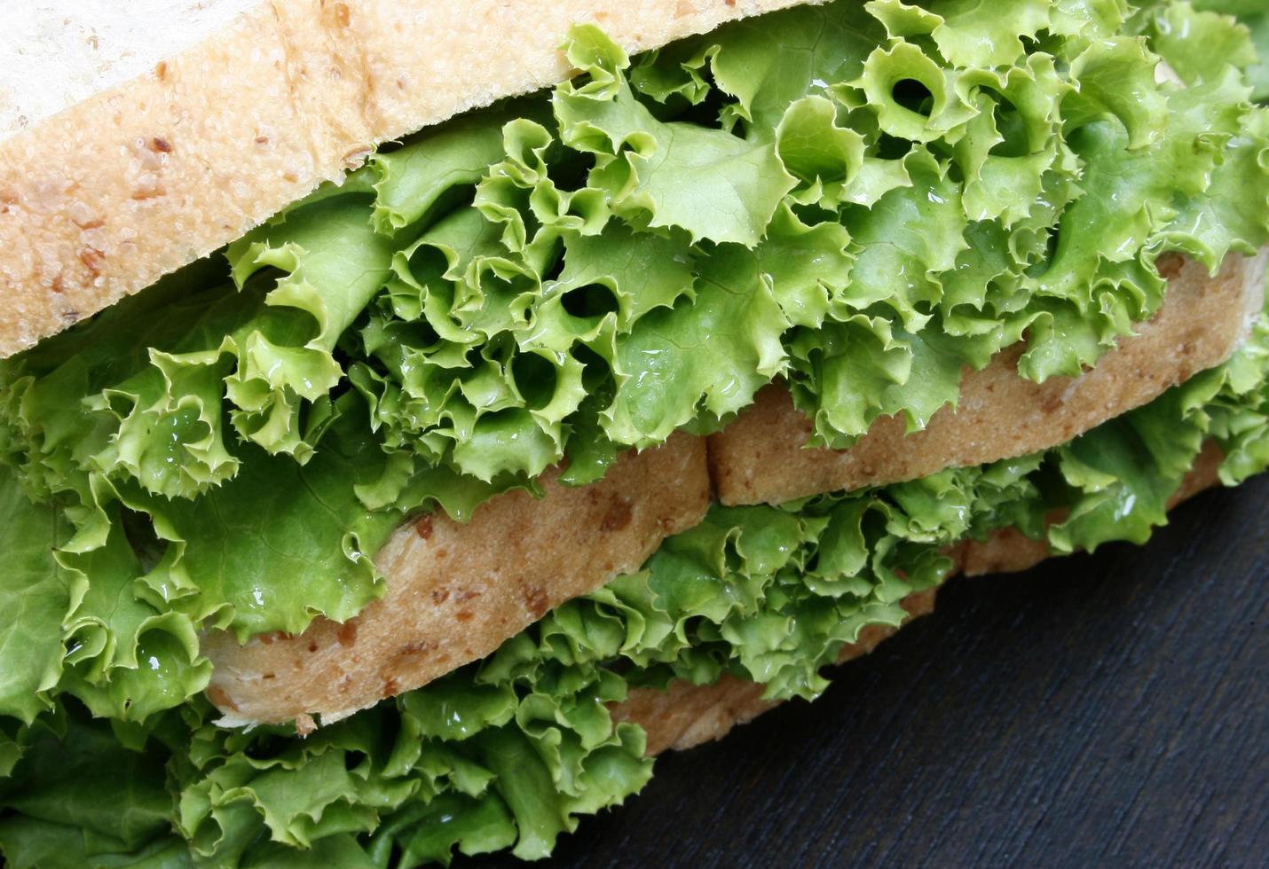 Salat und Brot foto
