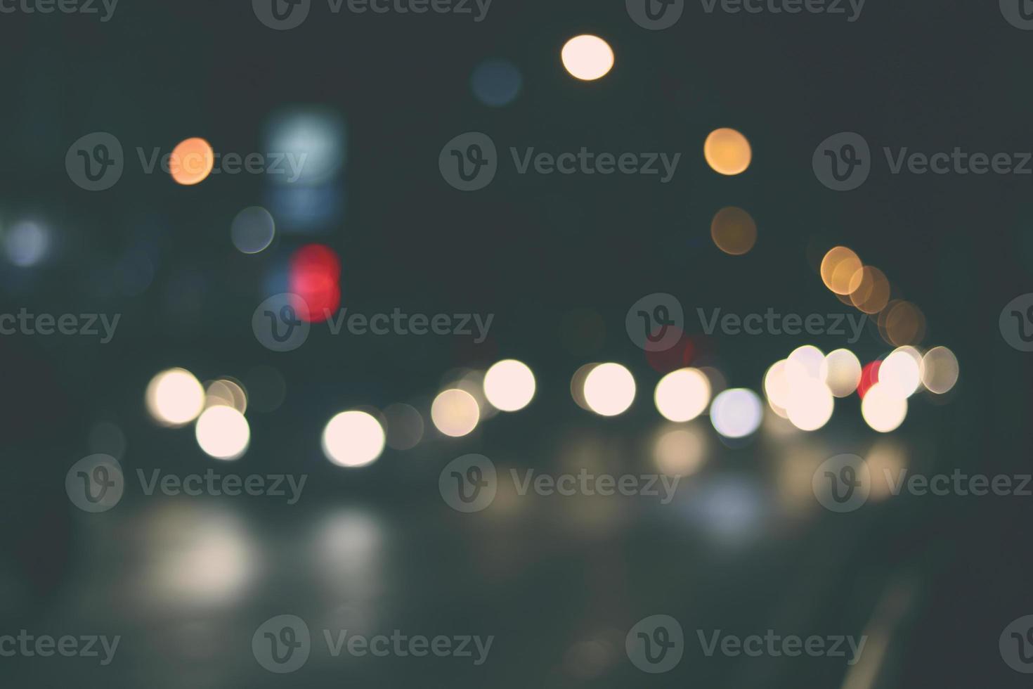 Bokeh der Lichter foto