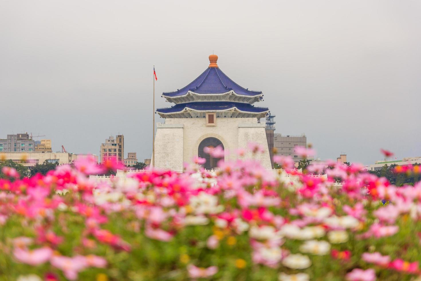 Chiang Kai Shek Gedenkhalle, Taipeh, Taiwan foto