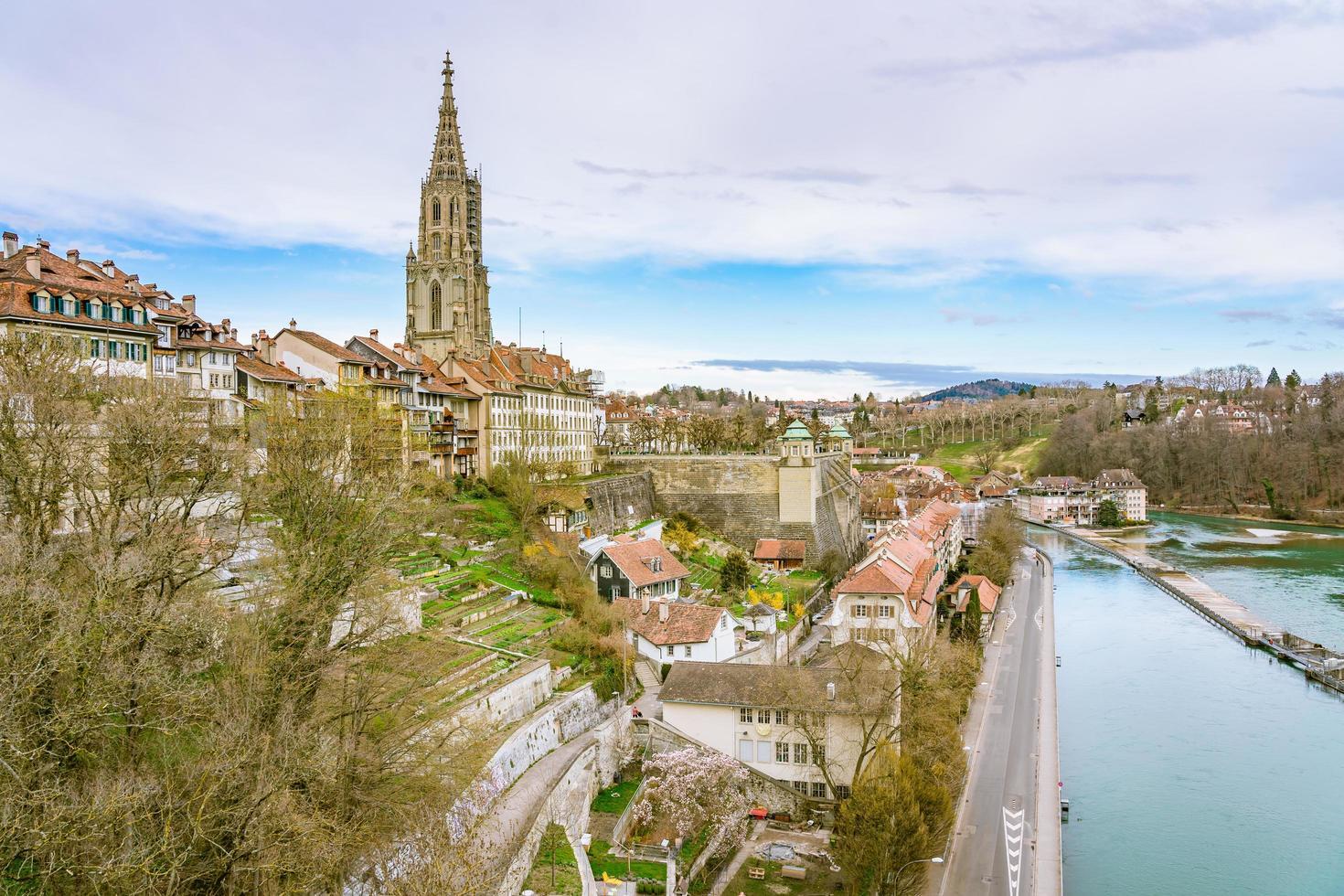 Blick auf Bern, die Hauptstadt der Schweiz foto