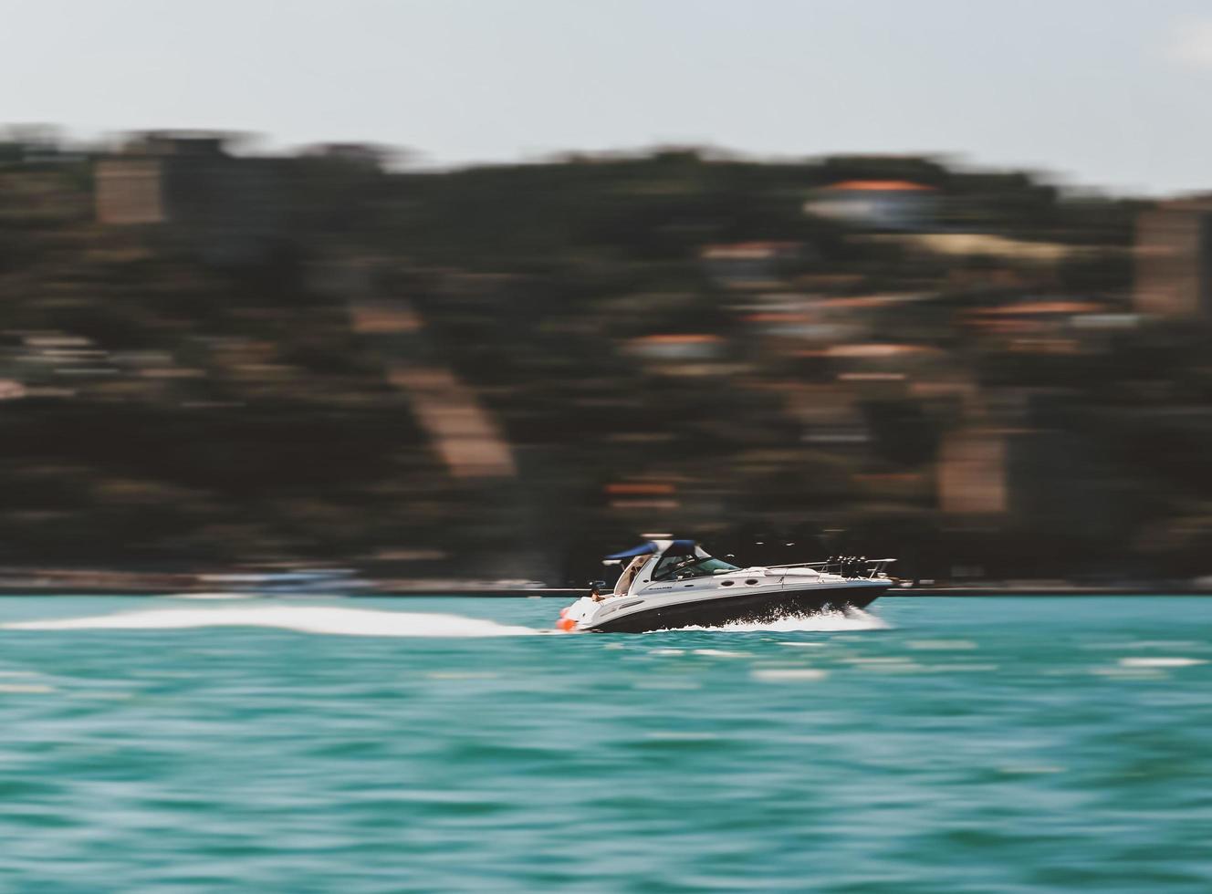 Fotografie des Schnellboots foto
