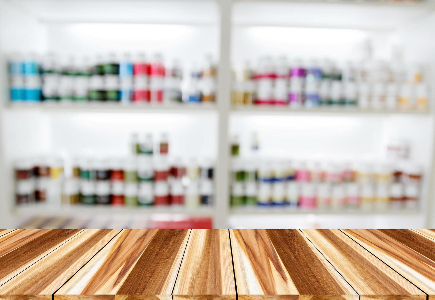 Apotheke Drogerie für den Hintergrund foto