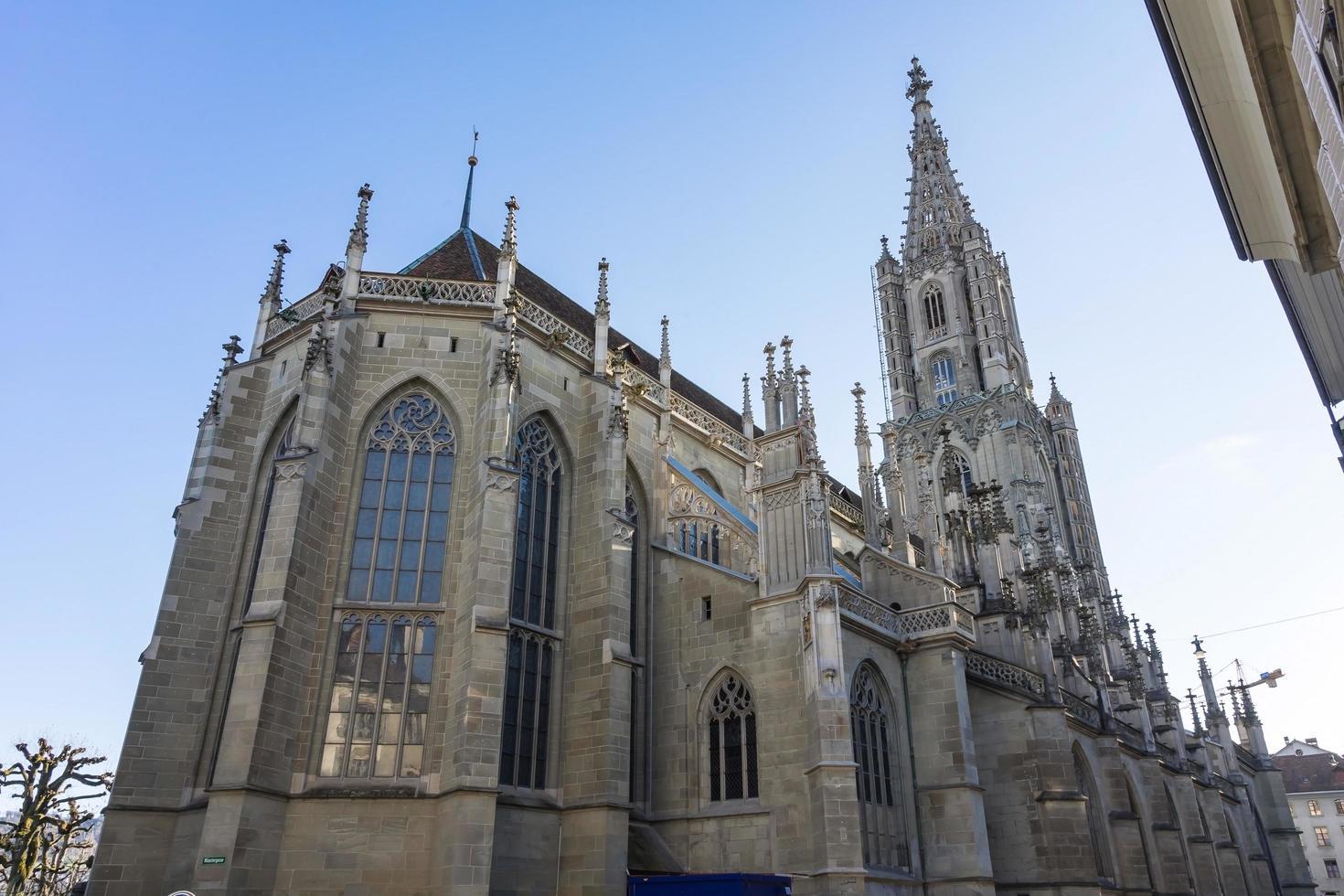berner münster kathedrale in der schweiz foto