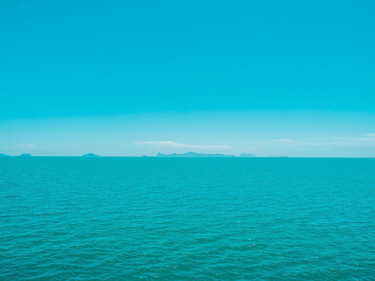 schönes tropisches Meer foto