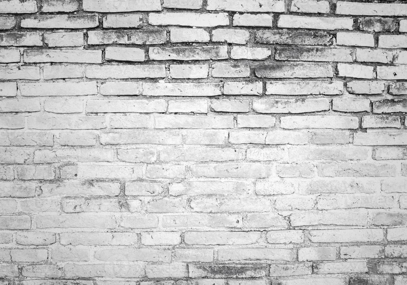 weiße und graue Textur Ziegelmauer foto