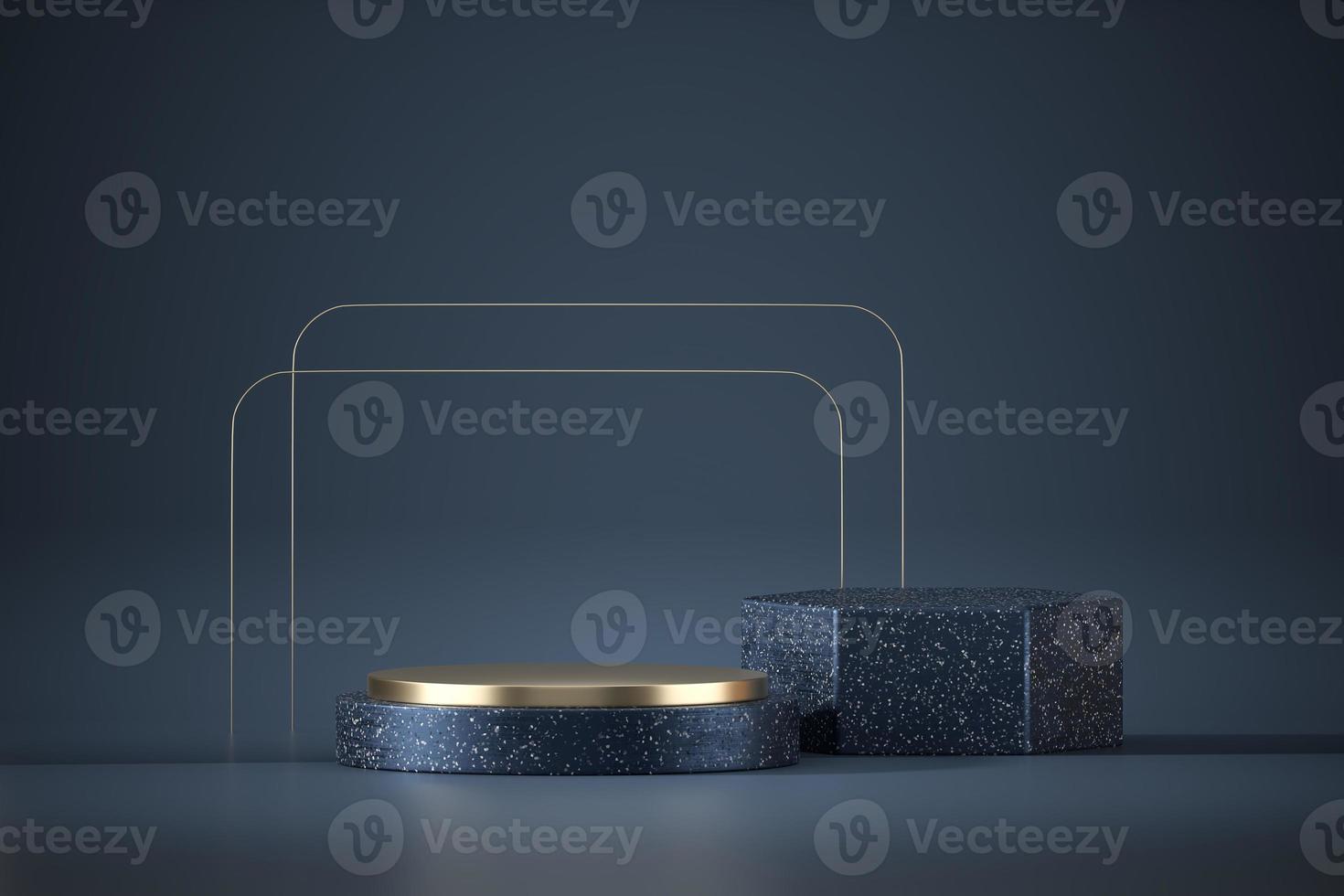 Bühnenpodest-Plattformmodell für die Produktanzeige foto