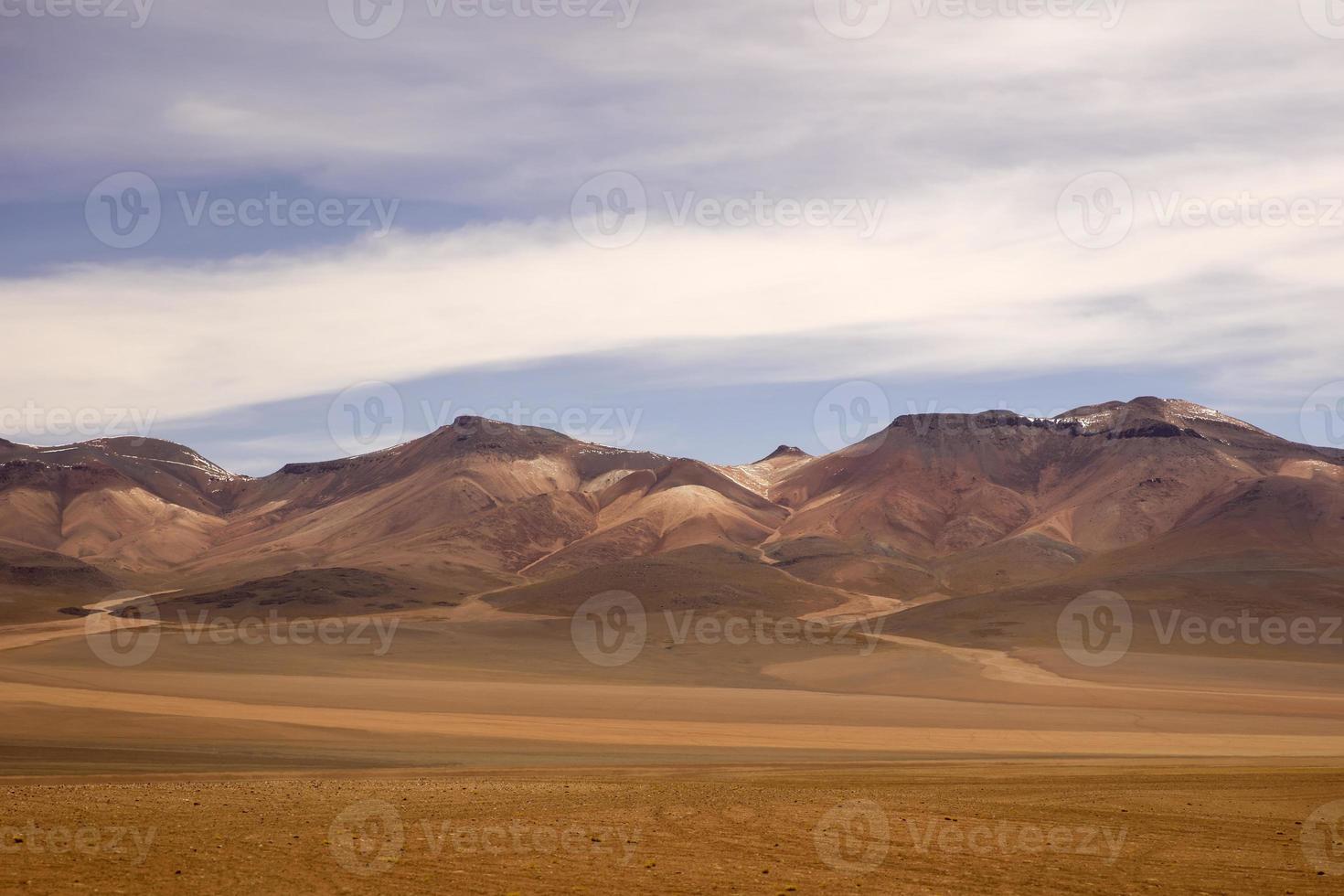 Dali Wüste in Bolivien foto