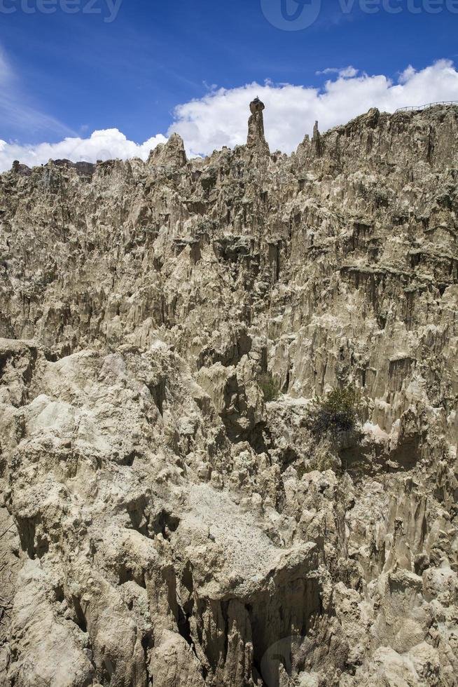 valle de la luna in bolivien foto