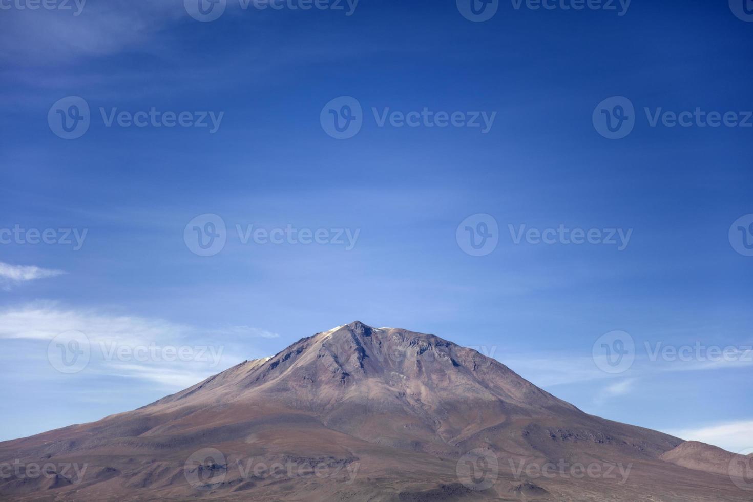 Vulkan Licancabur in Bolivien foto