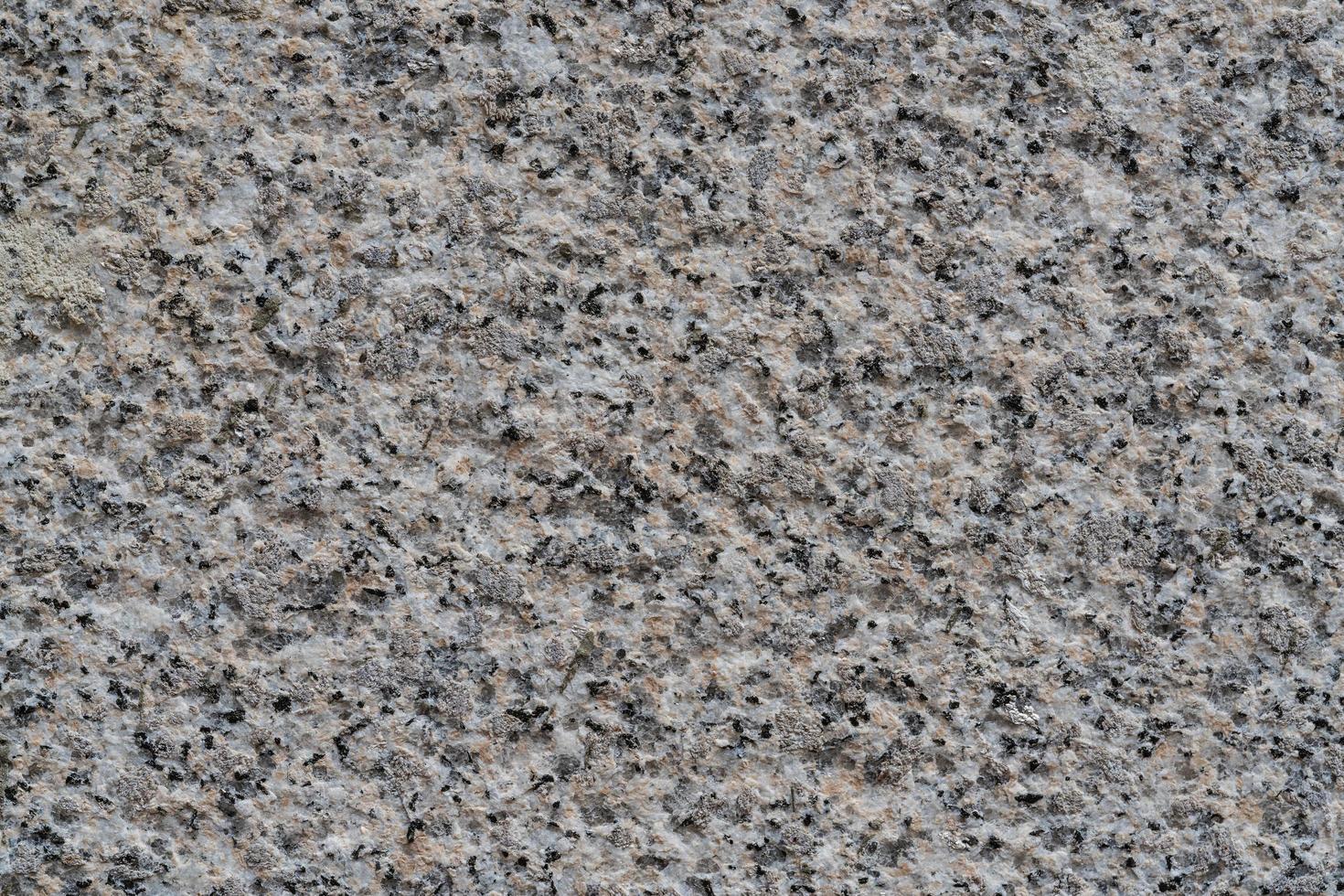 Textur einer Granitsteinoberfläche foto