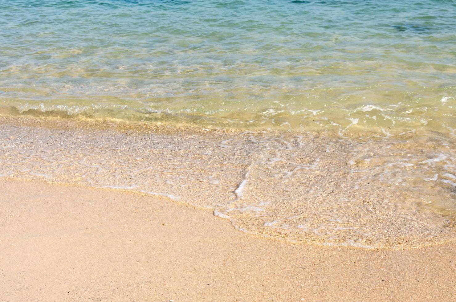 klare Meereswellen foto
