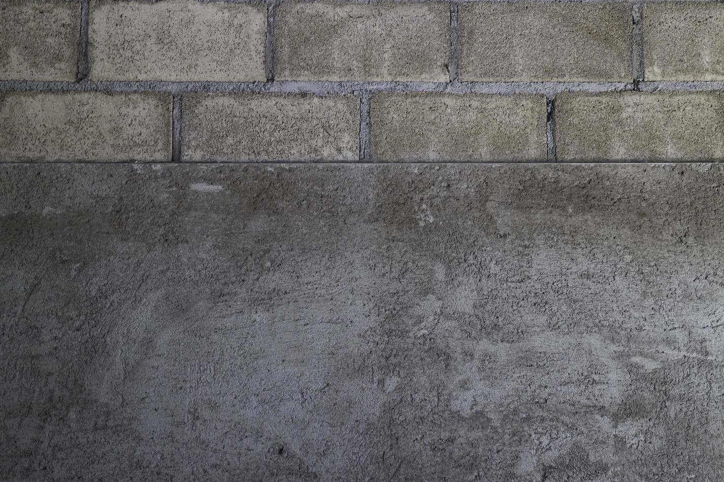 Minimaler Stil Betonwand foto