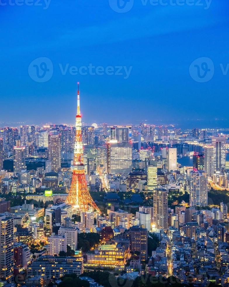 Stadtbild von Tokio, Japan foto