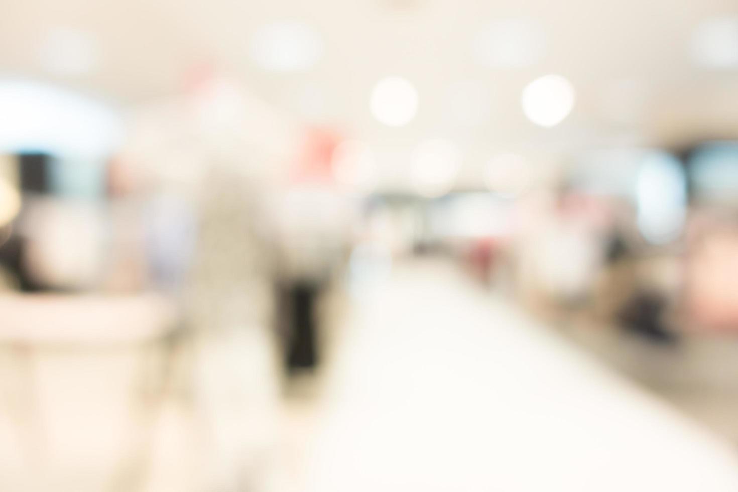 Unschärfe Krankenhaus und Klinik Interieur foto