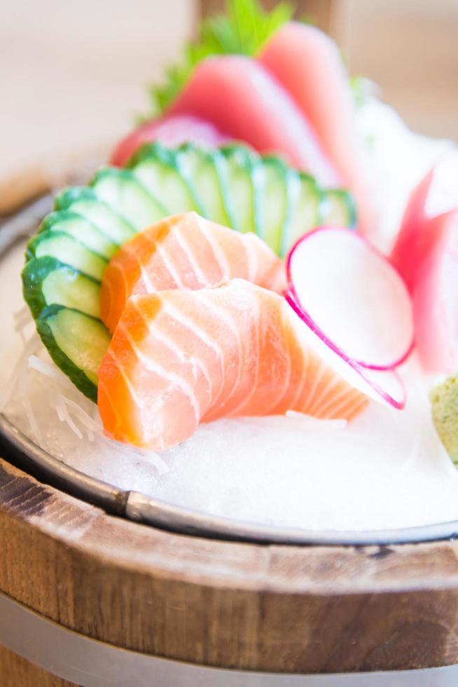 frischer Sashimi Fisch foto