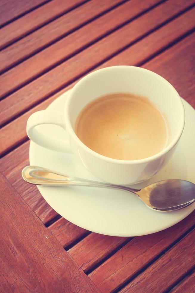 weiße Kaffeetasse foto