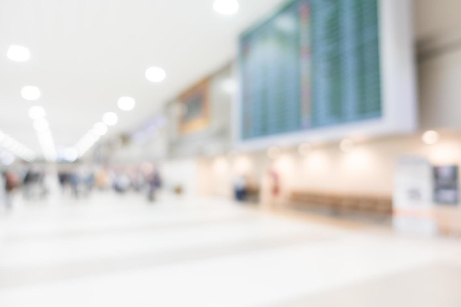 abstrakte Unschärfe Flughafen foto