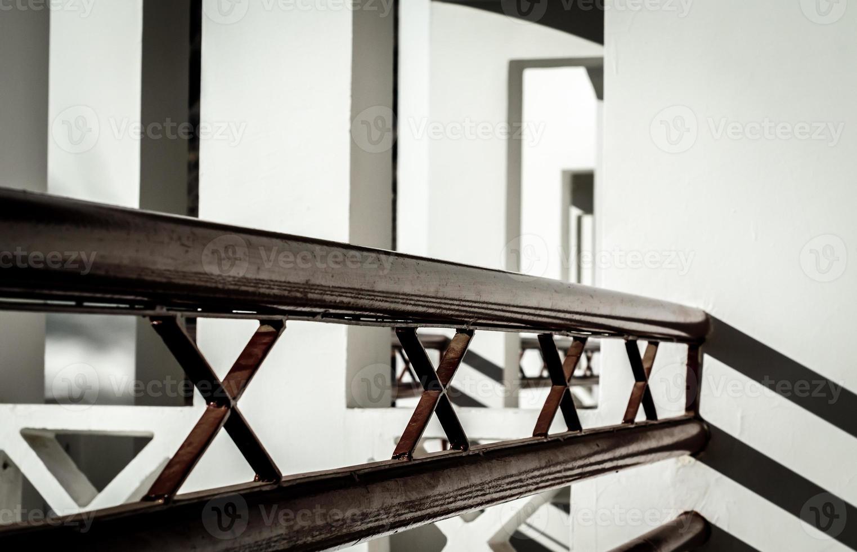 abstraktes Interieur des Geländers foto