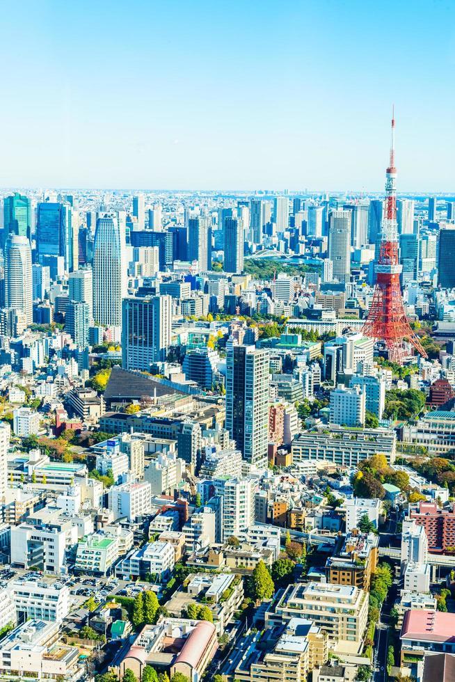 Tokio Skyline in Japan foto