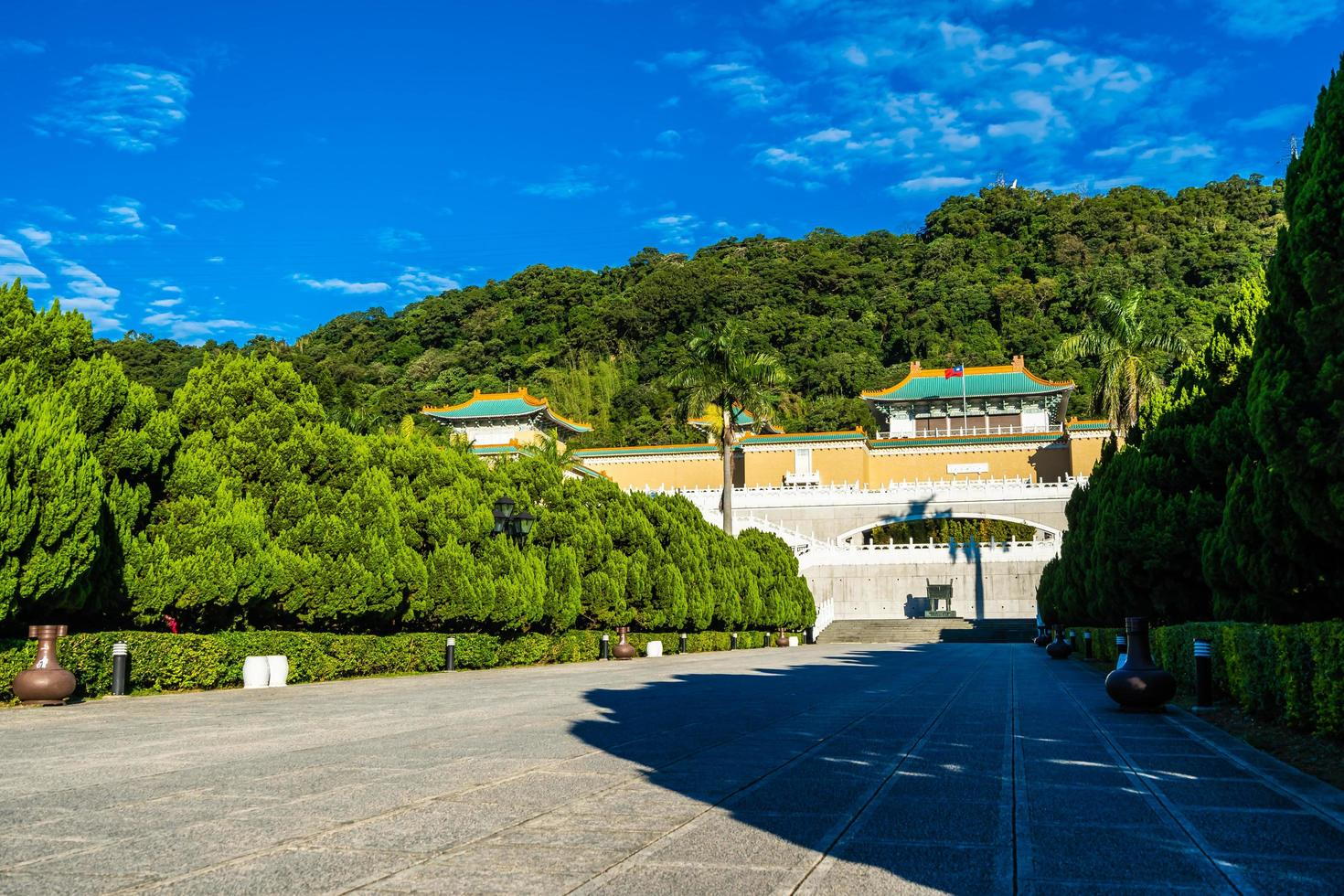 Taipei National Palace Museum in Taiwan foto