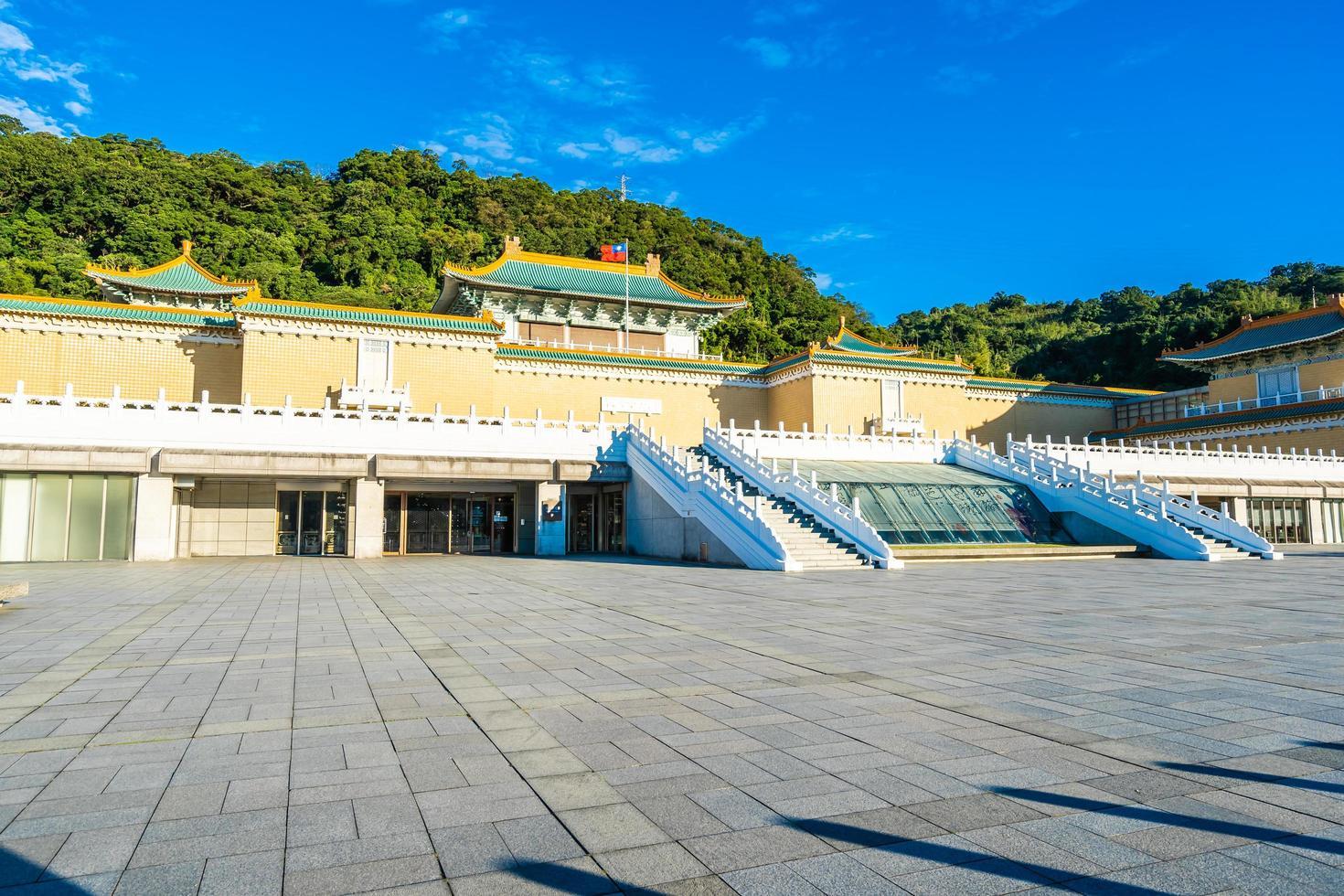 Taipei National Palace Museum in Taiwan foto