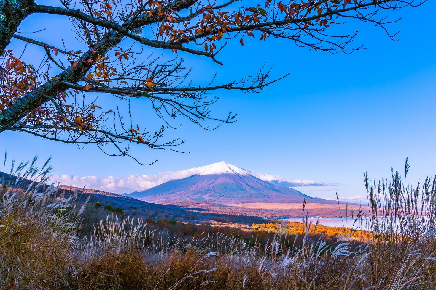 schöne mt. Fuji am Yamanaka-See, Japan foto