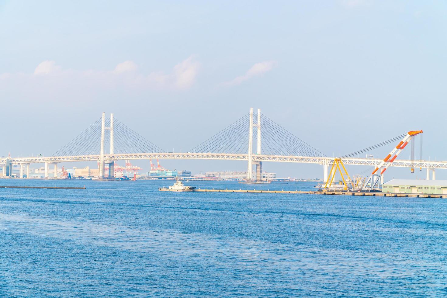 Yokohama-Brücke in Yokohama, Japan foto