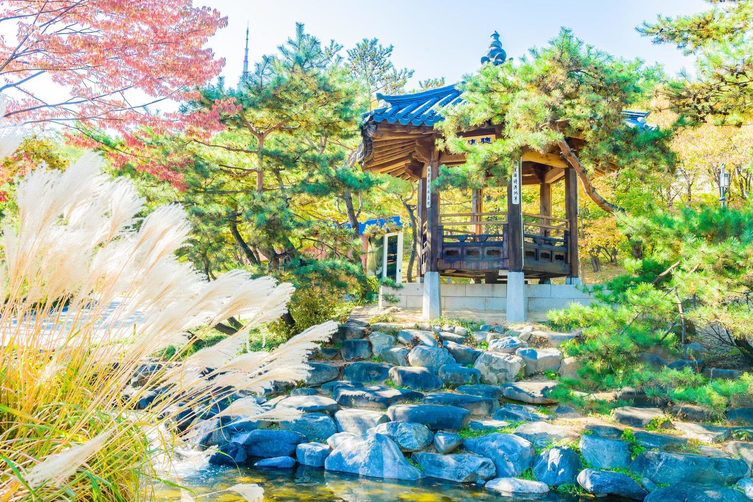 namsangol hanok dorf in seoul, südkorea foto