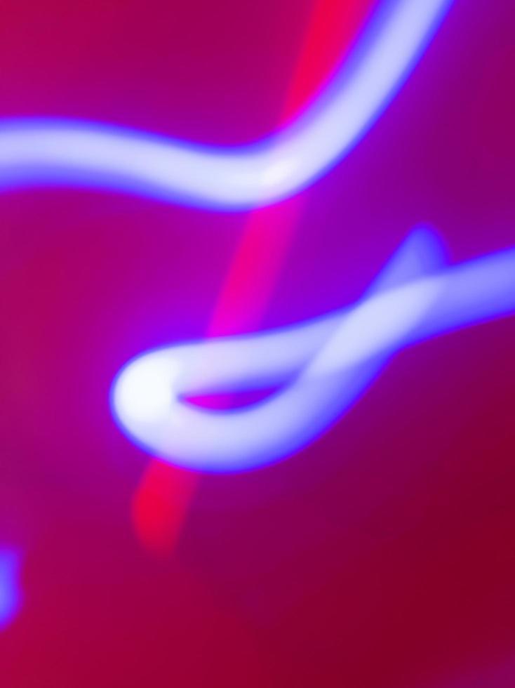 abstrakter bunter Neonhintergrund. Lichtwegeffekt. digitale Lagerillustration. foto