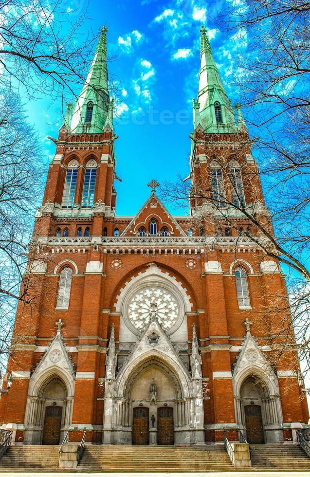 NS. Johannes-Kirche. Helsinki, Finnland. foto