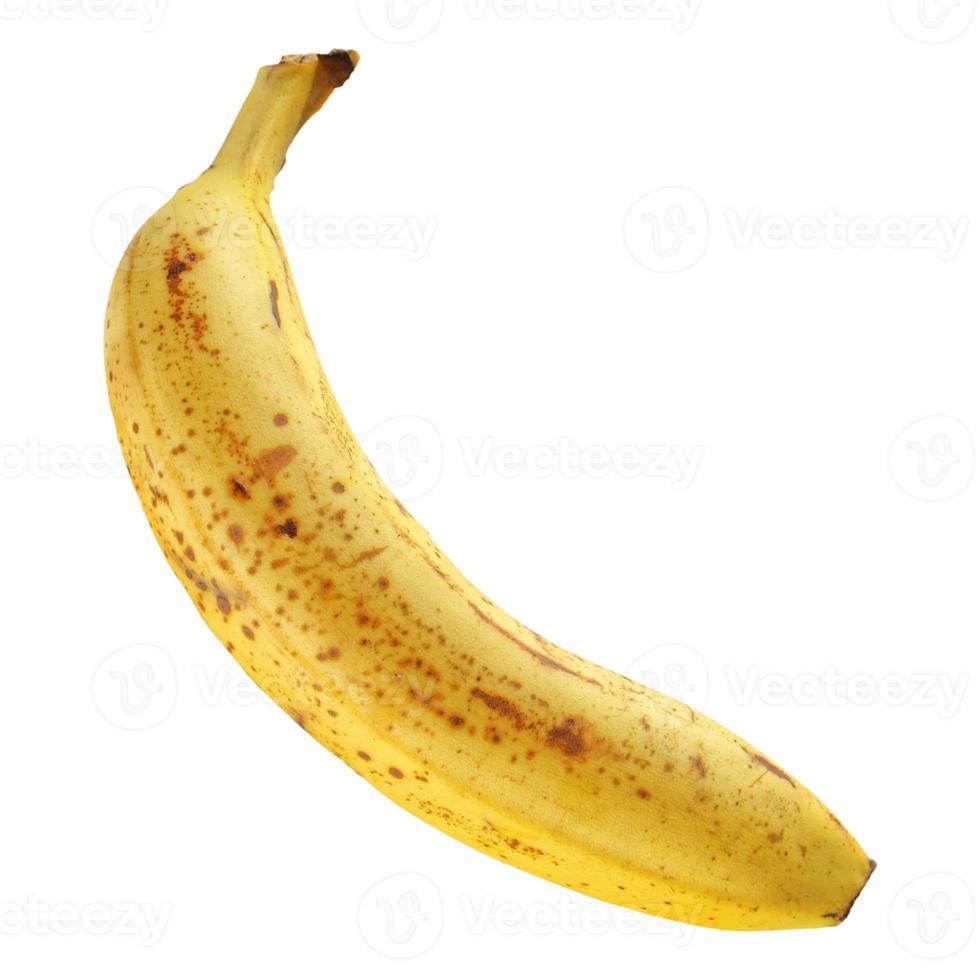 Bananenfrucht isoliert foto