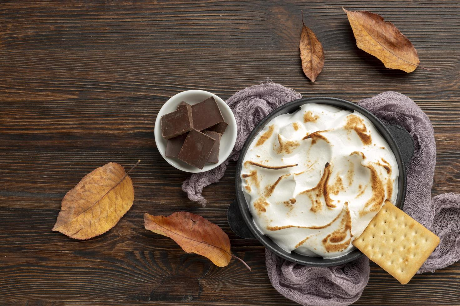 die schmackhafte Sitten-Dessert-Komposition foto