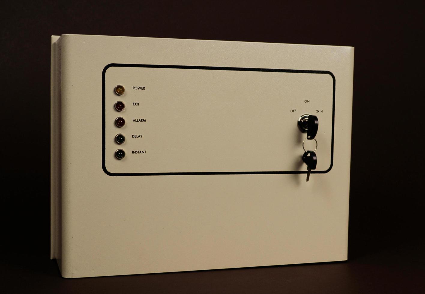 Elektronikbox für elektrische Anlagen und andere Zwecke foto