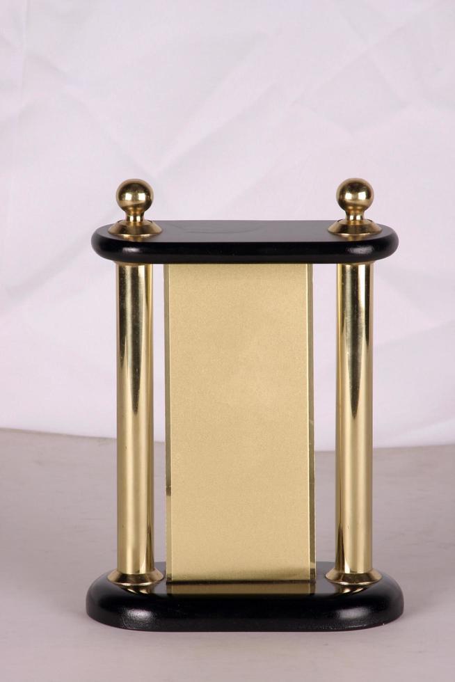 Prämienmodell aus Minen wie Bronze, Silber oder Messing foto