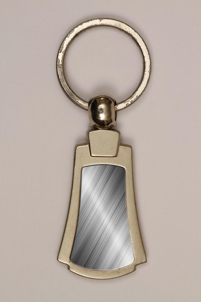 Schlüsselanhänger als Werbeaktion. foto