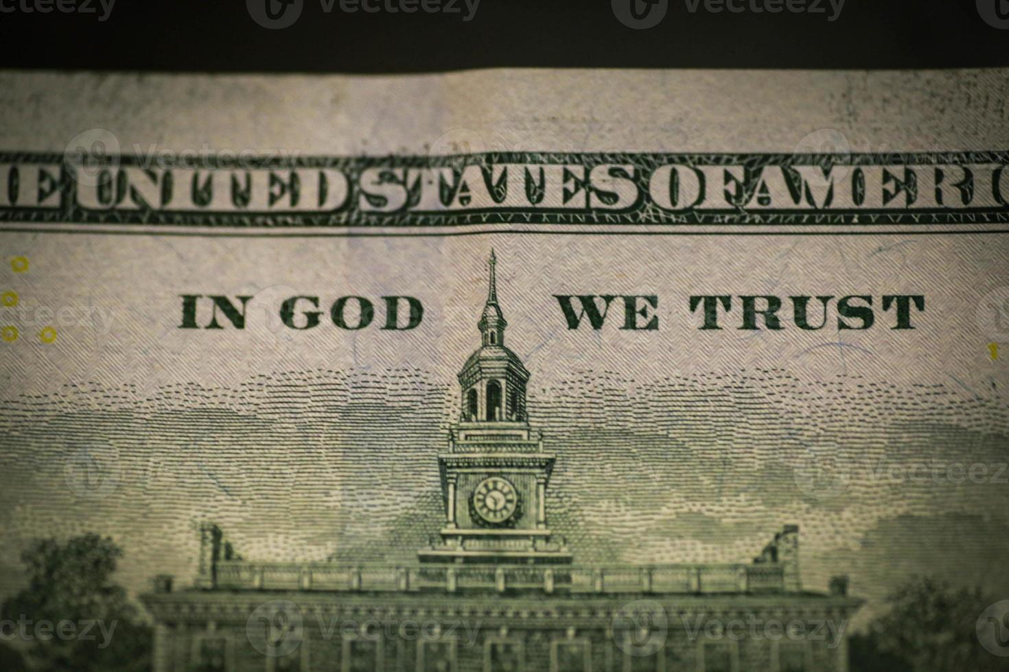 Benjamin Franklin auf US-Dollar - usd foto