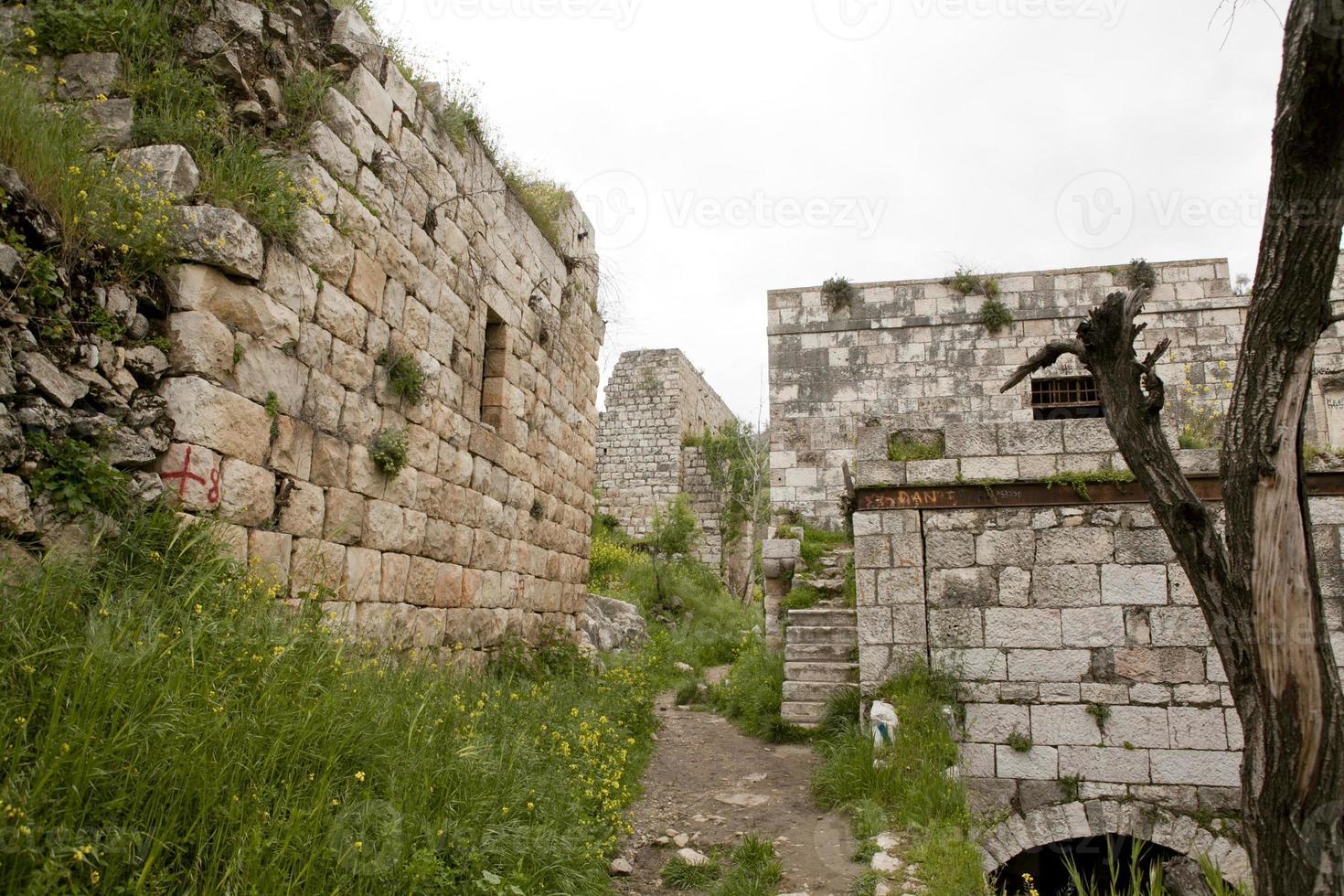 Architektur aus den Städten Israels, Architektur des Heiligen Landes foto