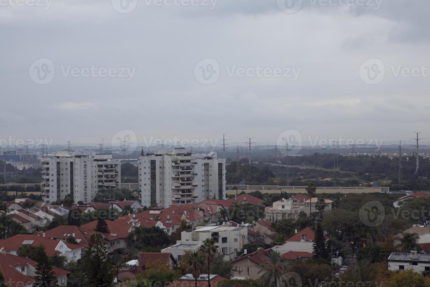 erstaunliche stadtansichten von israel, blicke auf das heilige land foto