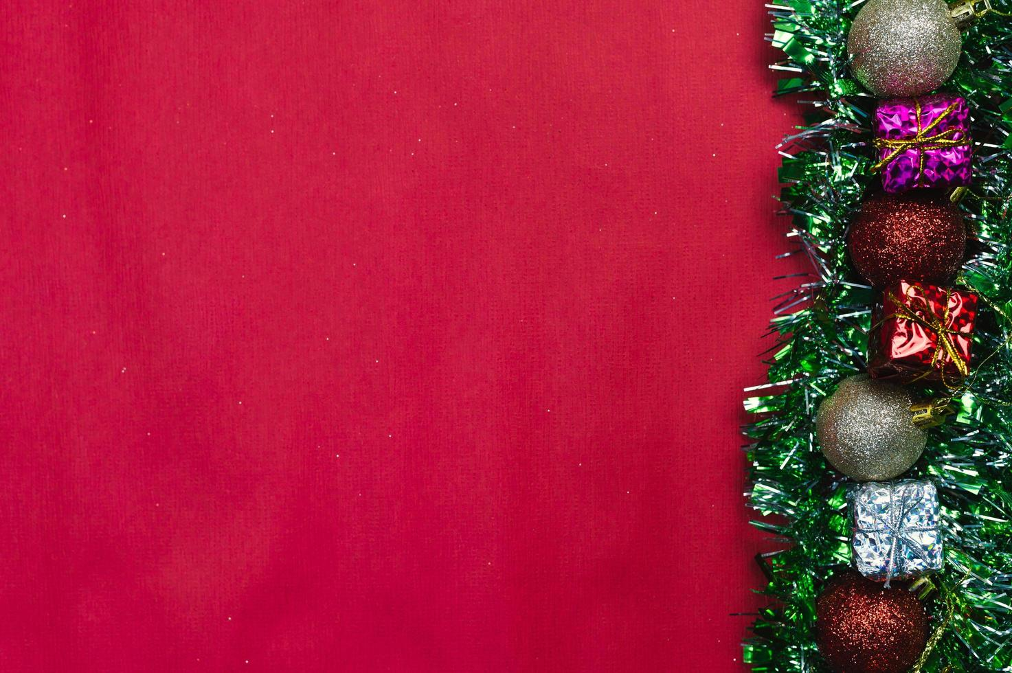 Hintergrund der frohen Weihnachten und Hintergrund des guten Rutsch ins Neue Jahr foto