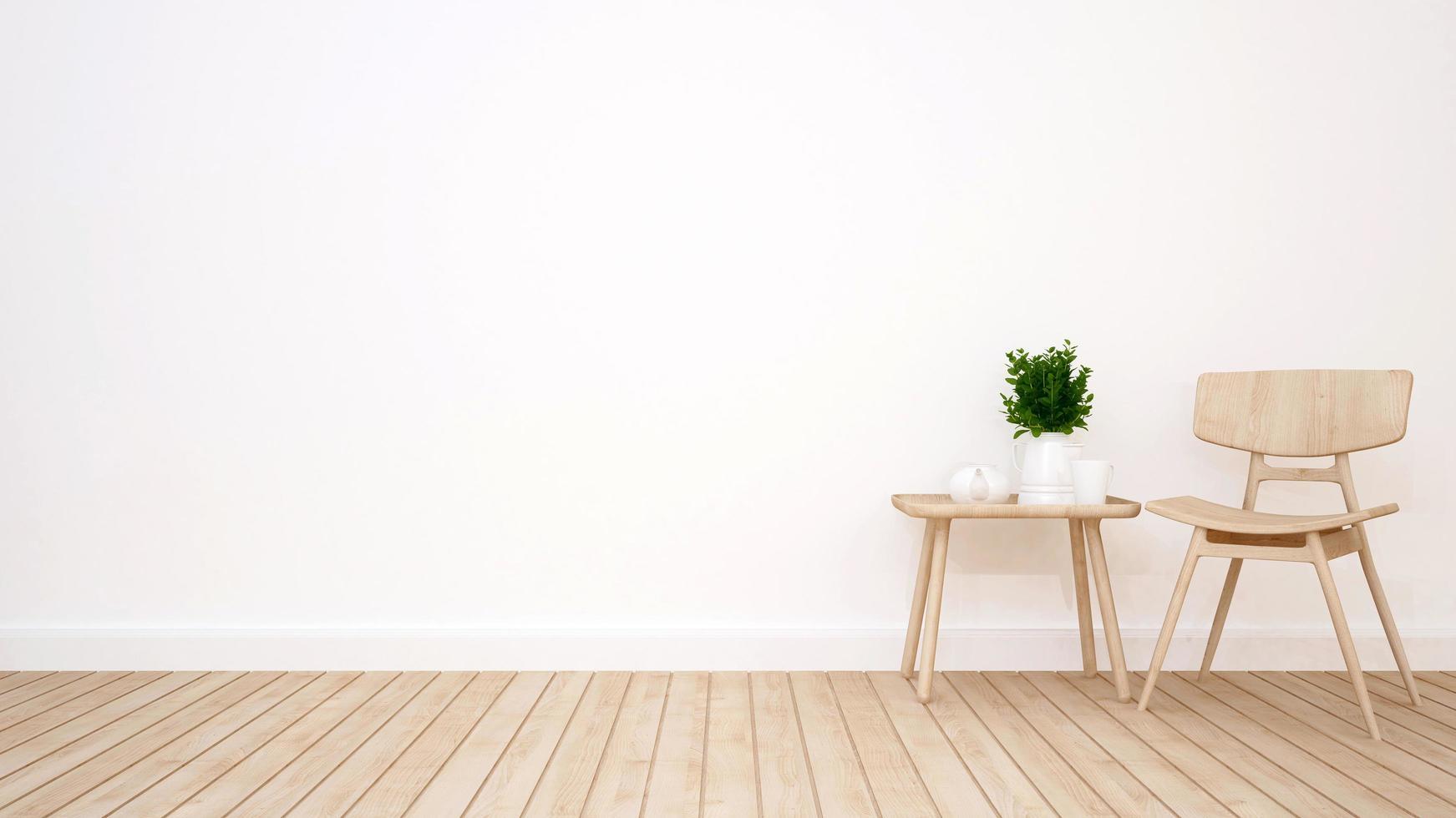Wohnzimmer im Café oder Apartment foto