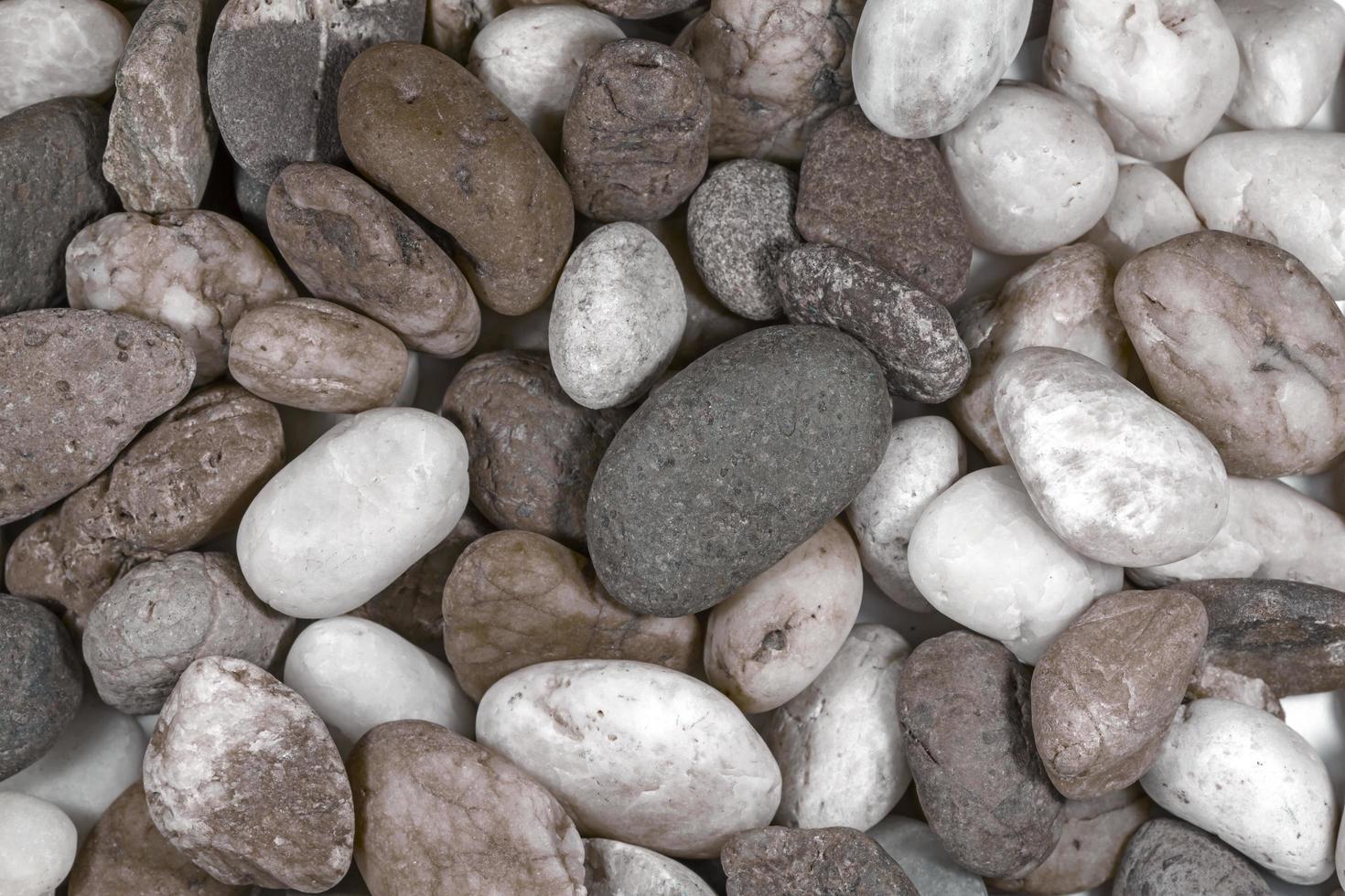 gestreifter Stein in der Natur foto