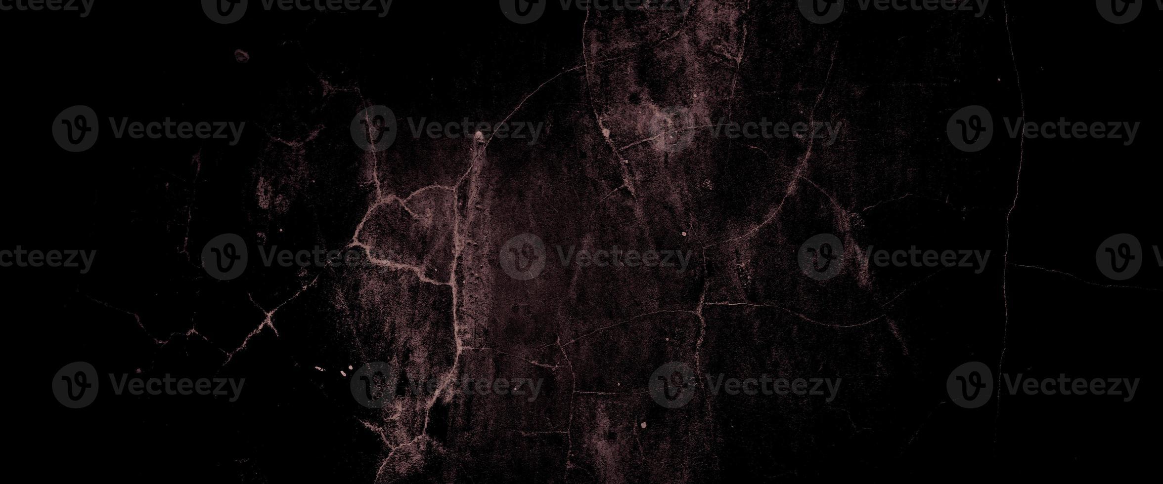 beängstigend dunkle Wände, leicht hellschwarze Betonzementtextur für den Hintergrund foto