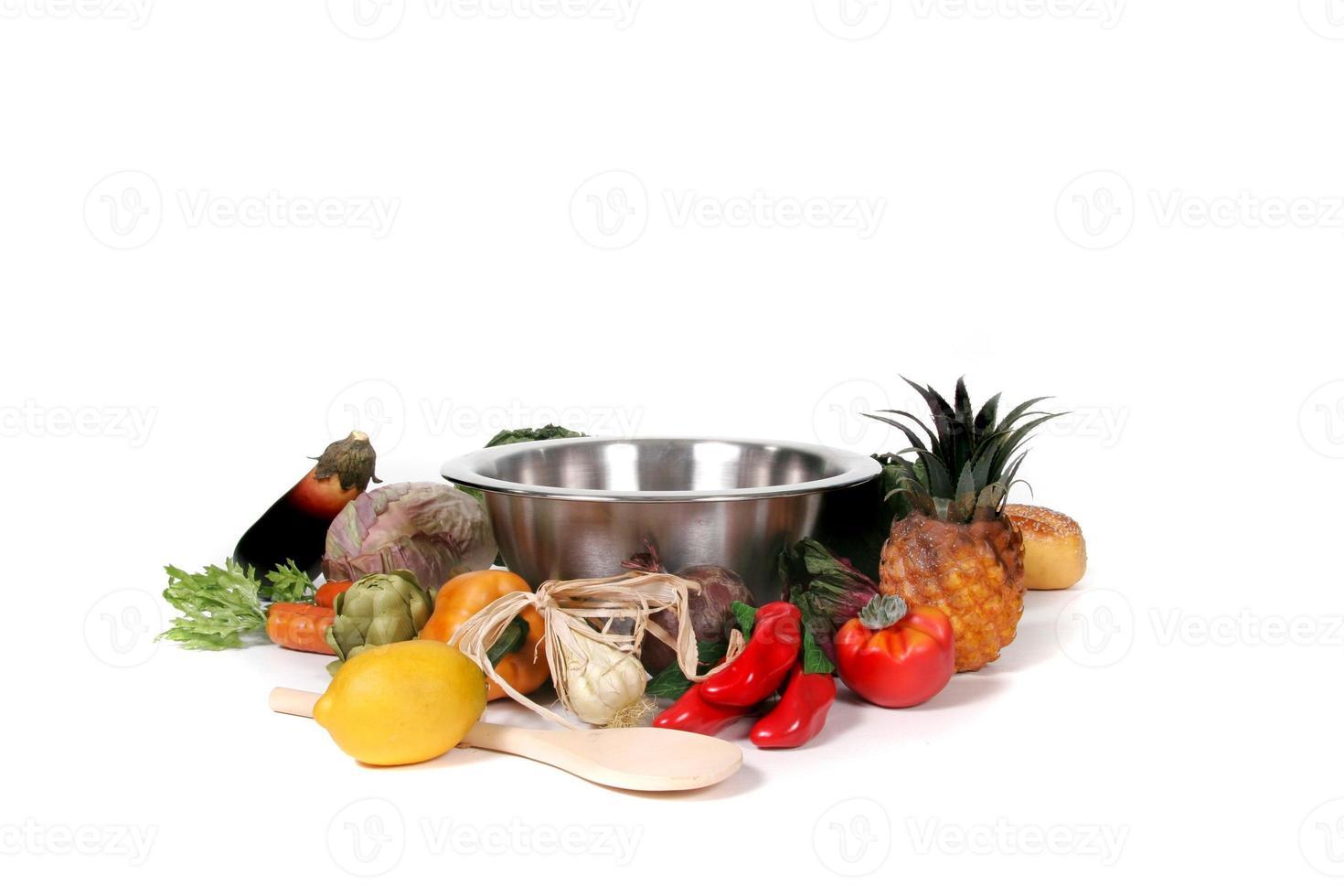 Kochen mit Food Fantasy-Fotohintergrund für die digitale Manipulation foto