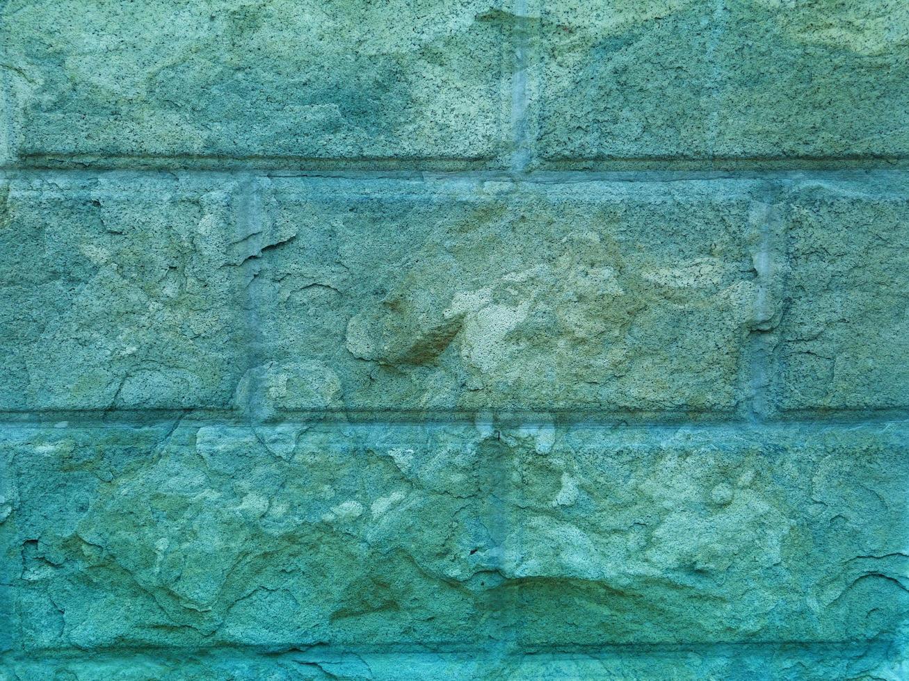 blaugrüne Steintextur foto