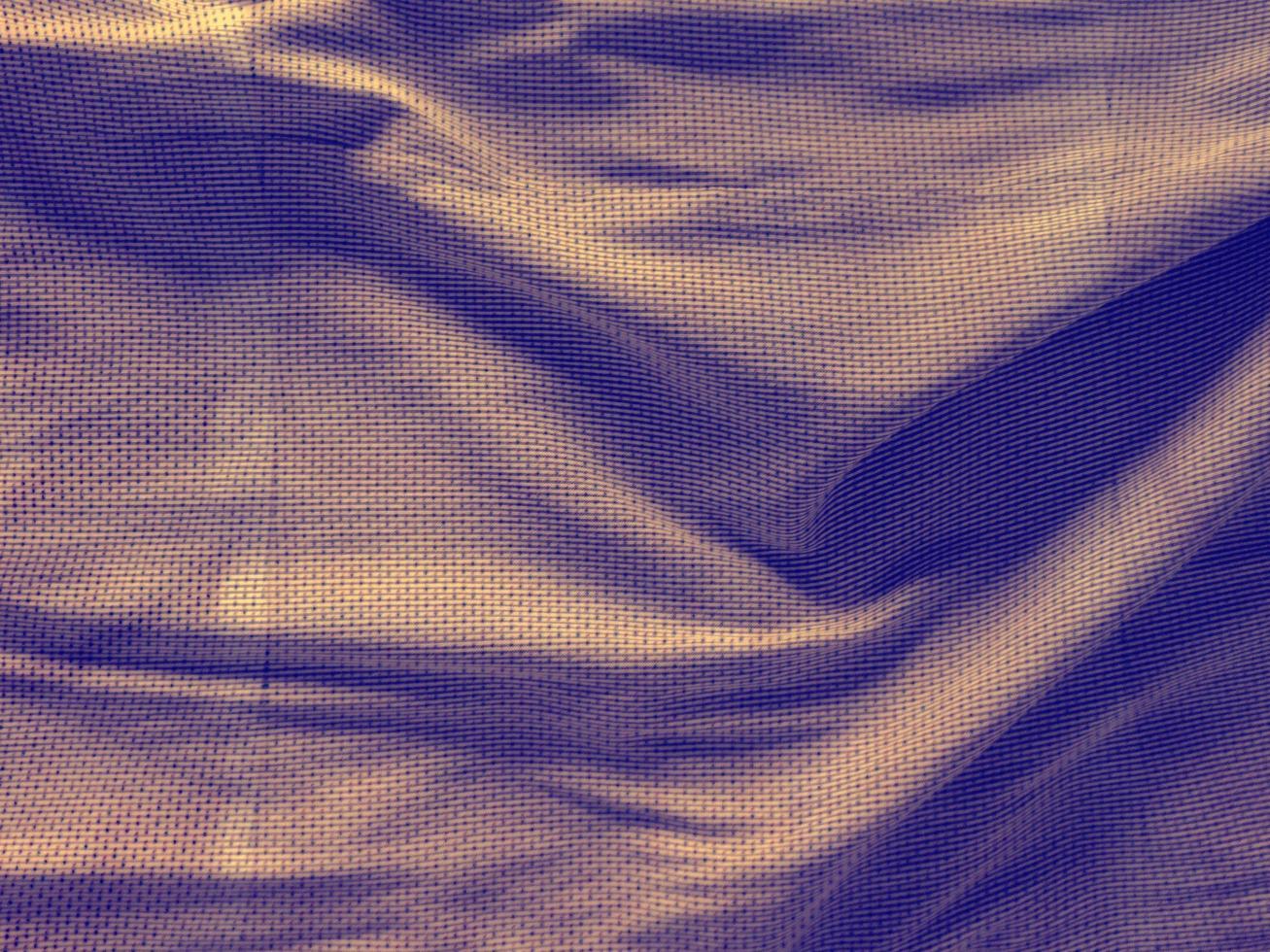 Textur von farbigem Tuch foto