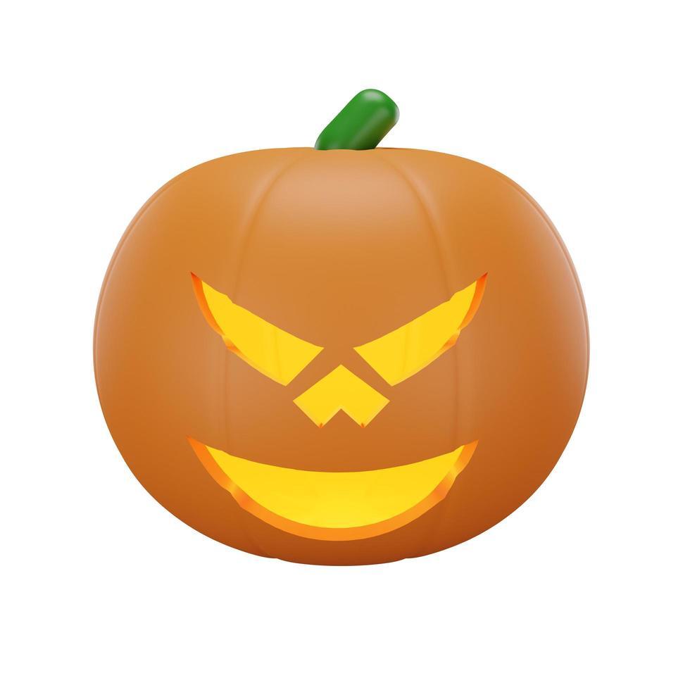 Kürbis mit Halloween-Konzept foto