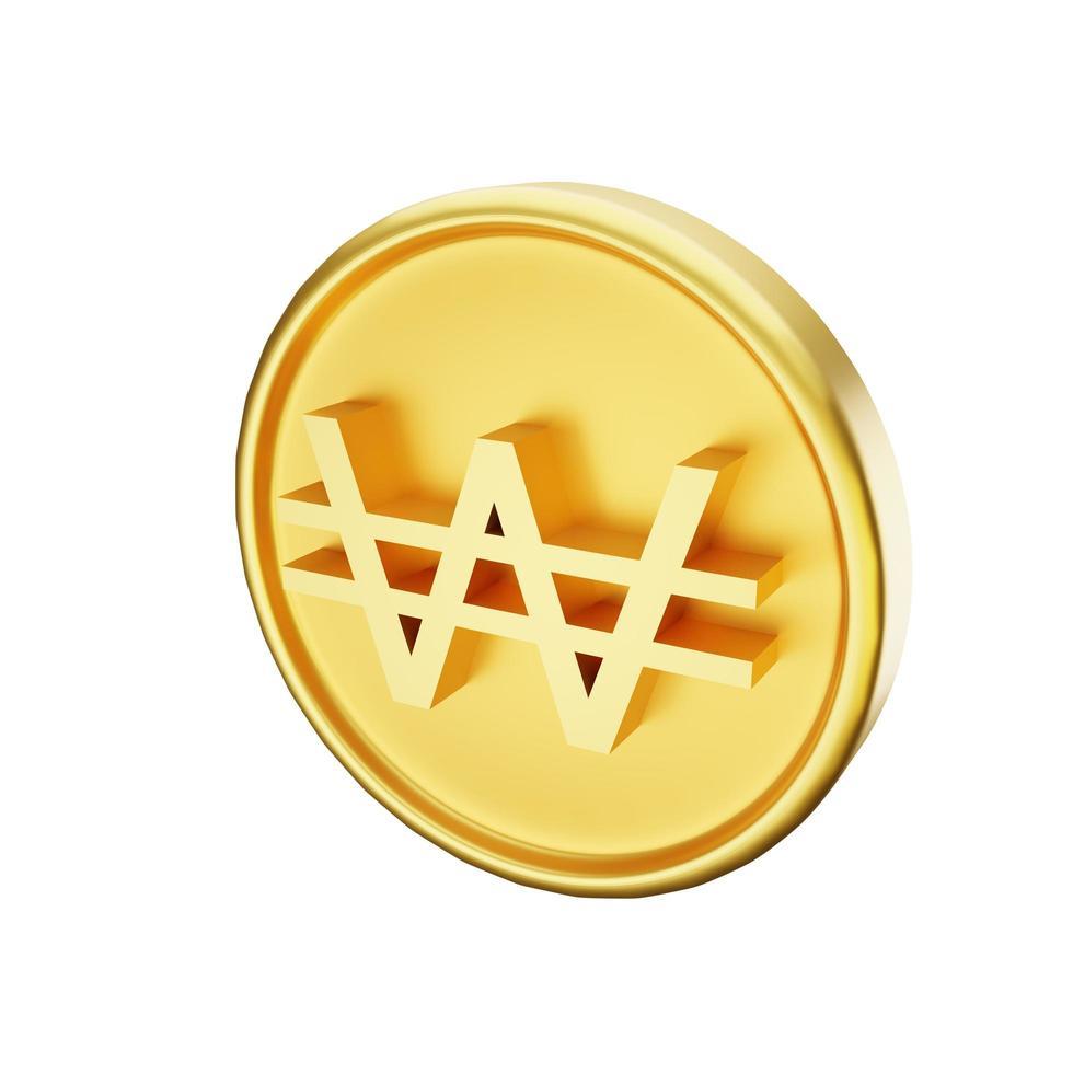 gewonnene Währung Abbildung foto